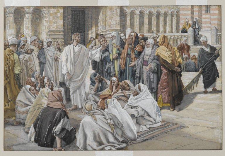 Le docteur de la Loi et le commandement (Mt 22,34-40)