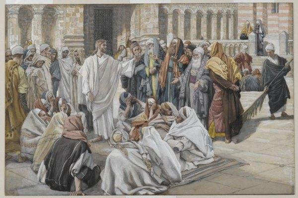 Le scribe et le commandement (Mc 12,28-34)