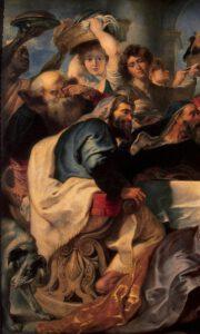 Rubens, le repas chez Simon le Pharisien, 1620 (detail)
