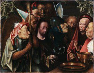 Jérôme Bosch, le Chrsit devant Pilate, 1520