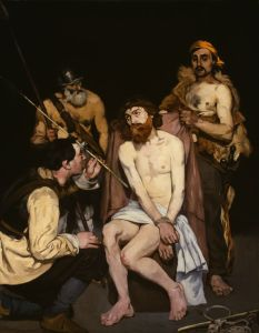 Edouard Manet, le Christ outragé, 1864