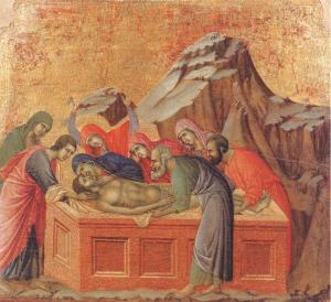Duccio di Buoninsegna, Burial, 1311