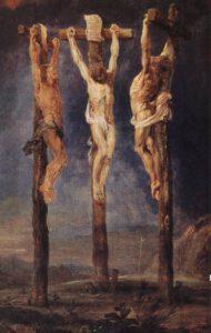 Peter Paul Rubens, les trois crucifiés, 1620