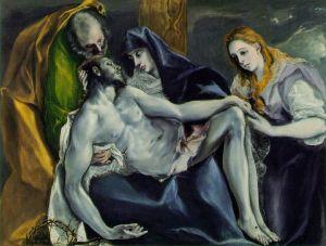 Pieta, El Greco,1585