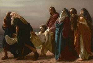 La mort du Fils de Dieu (Mc 15,33-47)