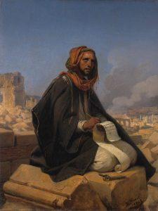 Horace Vernet, Jérémie, 1844