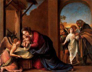 Alessandro Tiarini, Nativité, XVIIè s.