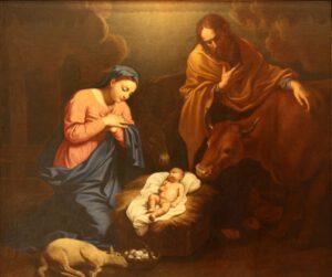Nicolas Mignard, La Nativité,1656