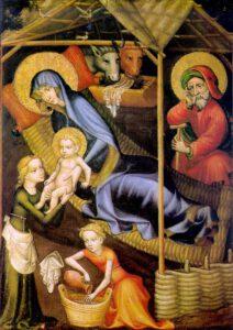 Nativité, Anonyme, Autriche, 1400