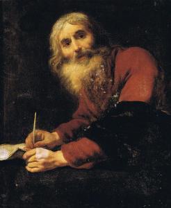 Claude Vignon, Saint_Luc, évangeliste, 1620