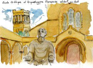 E.B.A.F. Jérusalem - le couvent St Etienne