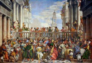Paolo Veronese, les noces de Cana, 1563