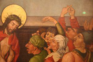 Dérision du Christ, Musée d'Unterlinden à Colmar, XIIs