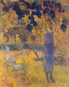 Gauguin, La récolte, 1897