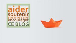 Soutenir le blog