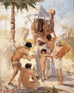 Anna Bilińska, Joseph vendu par ses frères, XIX°