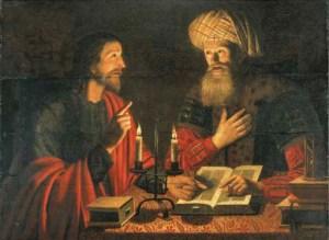 Jésus et Nicodème par Crijn Hendricksz, 1645