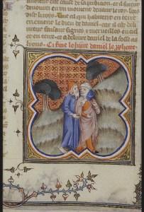 Osée et Gomer, Bible Historiale, 1372