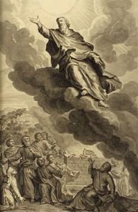Dieu enlève Enoch, Gerard Hoet, 1728