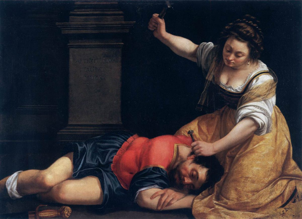 Artemisia Lomi Gentileschi, 1620, Yaël et sissera