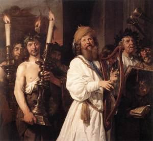 Seigneur de David et fils (Mt 22,41-46)