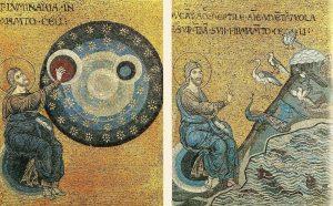 La création, mosaïque