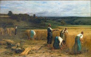 Beaux Arts de Carcassonne, La Moisson (1874), Léon Augustin Lhermitte, 122x205