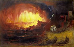 John Martin, Sodome et Gomorrhe, 1852