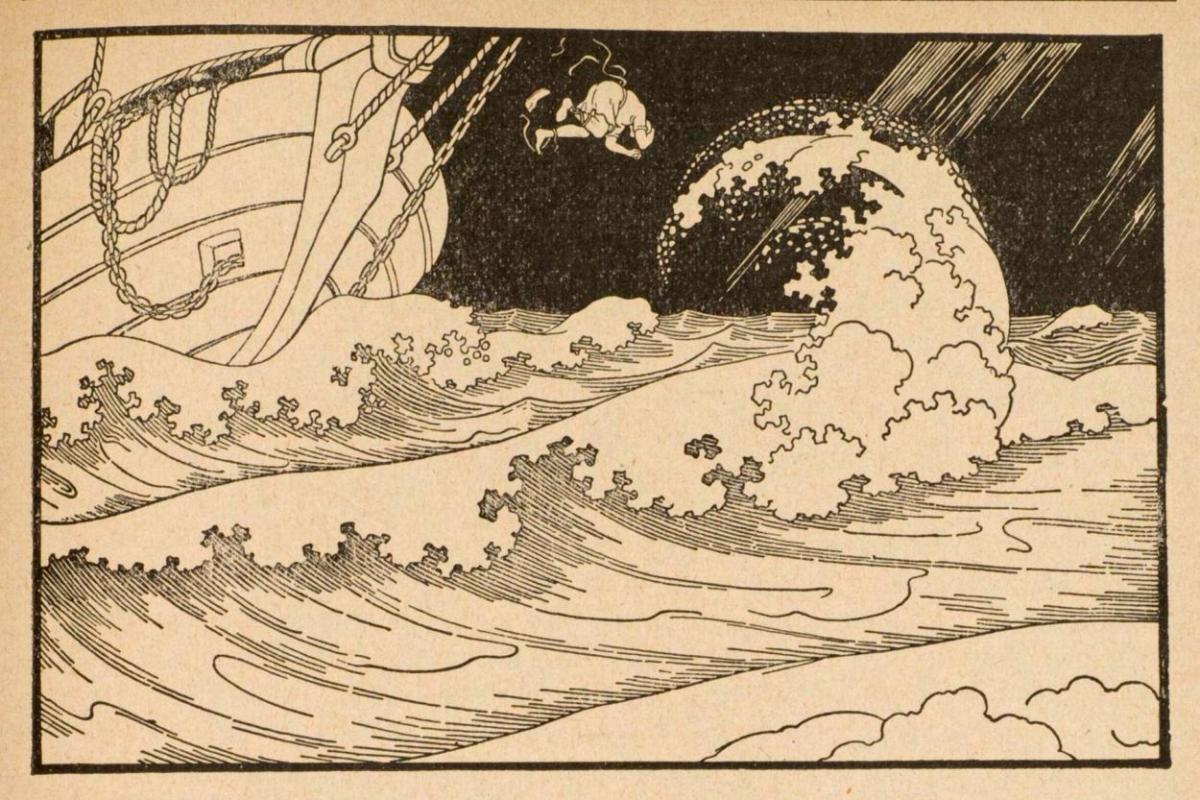 Moses Ephraïm Lilien, Jonas, 1914