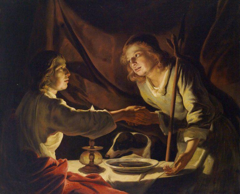 Ils sont nés les bibliques Esaü et Jacob (podcast)