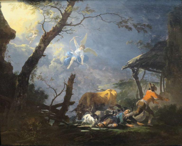Les bergers et le divin enfant