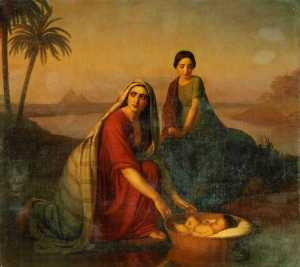 Alexey Tyranov, Moses' Mother, 1839-42