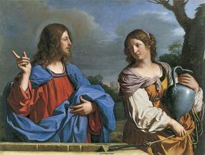 Guercino, Le Christ et la Samaritaine, 1640.
