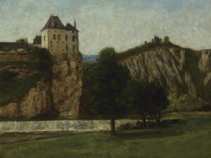 Le Château de Thoraise, Gustave Courbet, 1865