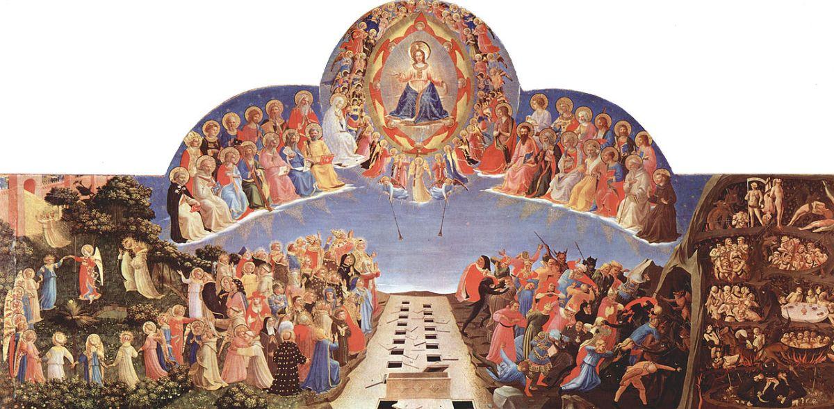 Fra Angelico, Le Jugement dernier, 1431.