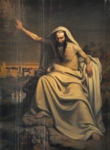 Louis-Felix Legendre, La prophétie d'Isaïe, XIXe