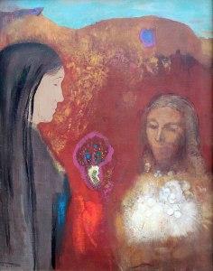 Odilon Redon, le Christ et la Samaritaine, XXe s.