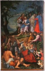 Santi di Tito, multiplication des pains, 1592