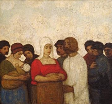 Jakob Smits, Le Chrsit et la femme adutlère, XXe