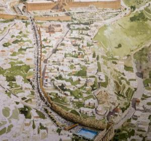 Voie processinnaire de Siloé au Temple (www.israel-in-photos)