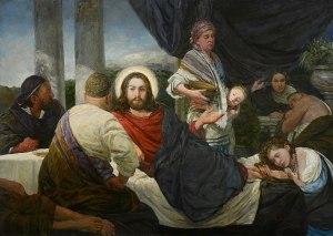 Mironov; Le Christ en la maison de Simon le Pharisien, 2020