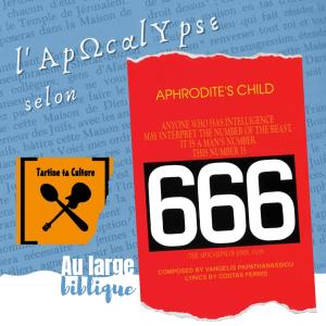 Read more about the article Apocalypse's Child 666 (Manu / Tartine ta culture)