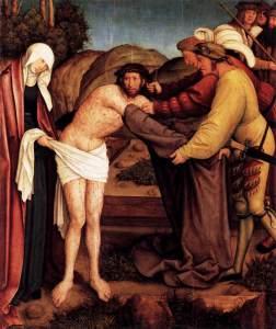Bernhard Strigel, Dépouillement du Christ, 1520