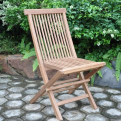 Teak Folding Chair Red Parsons Chairs Standard