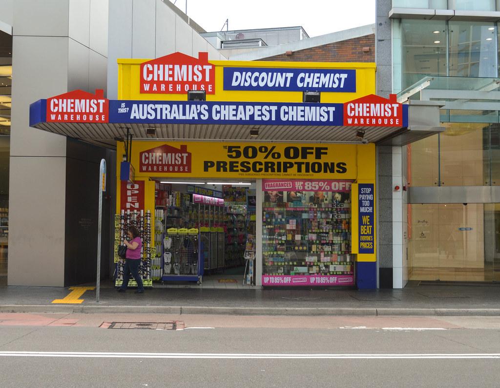 Chemist Warehouse成首家要求顧客進店前需經體溫檢查的零售商 顧客懷疑其「作秀」 (圖片來源:Flickr) 欣欣 ...