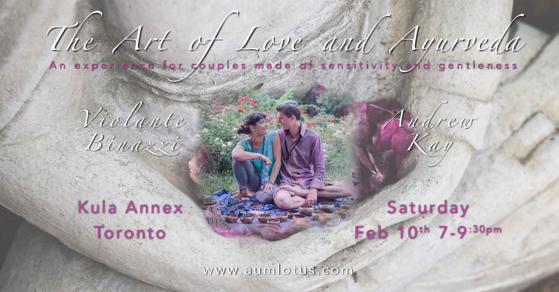 The Art Of Love Amp Ayurveda Workshop For Couples Kula Annex