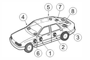 Adaptér repro 165mm Dacia / Nissan / Renault / Hyundai