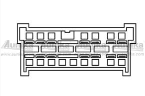 ISO adaptér pro autorádia Nissan
