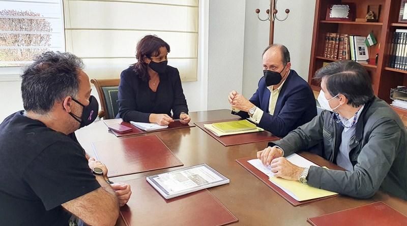 Reunión con el consorcio de transporte en Espartinas