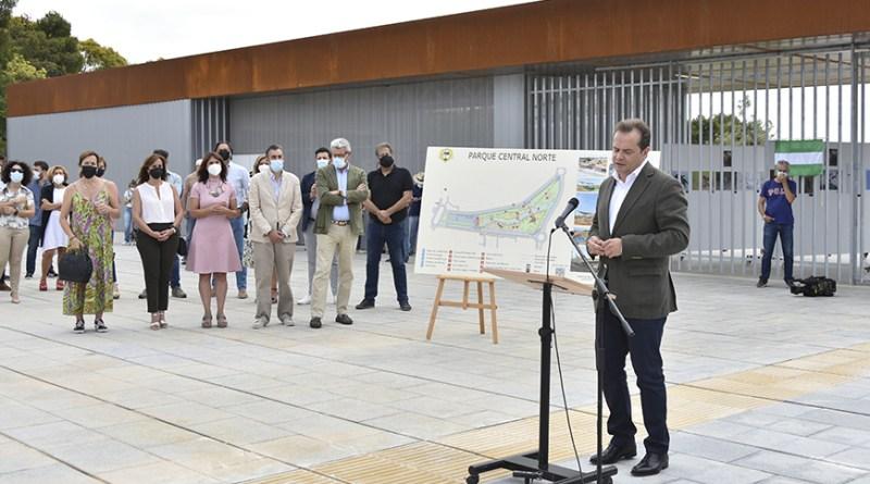 Inauguración Parque Central